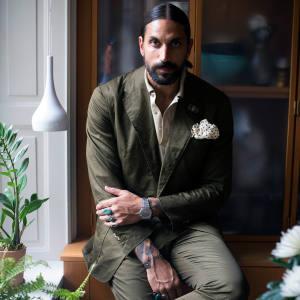 Ben Gorham at home in Stockholm