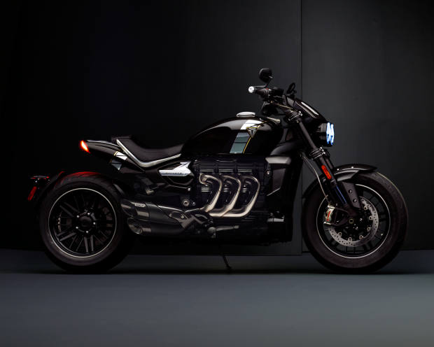 The Triumph Rocket TFC will be unveiled in May