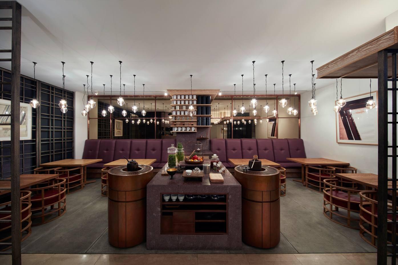 Higashiya Ginza tea salon in central Tokyo
