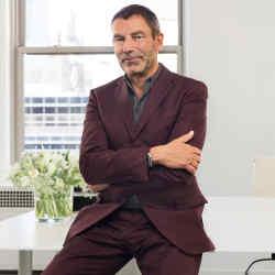 Bottega Veneta creative director Tomas Maier in his New York office
