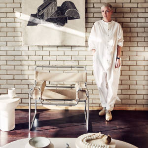 Faye Toogood and her Marcel Breuer Wassily chair