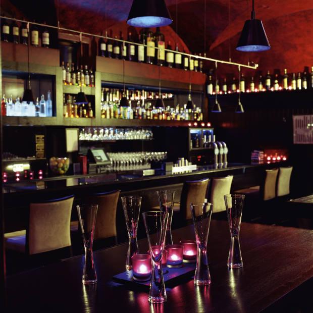The bar of Malmaison.