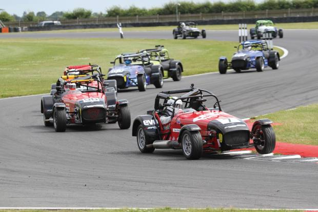 The Caterham Seven Academy's £24,995-plus price tag covers the cost of competing in an annual race series