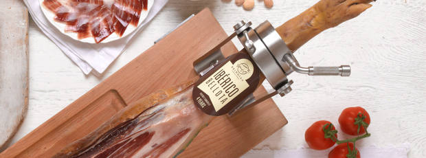 The fine Jamón de Bellota is on the menu at the carving masterclasses
