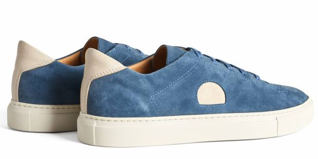 The Jubilee incorporates the brand's signature CQP dot on the side panels and inner arch support for all-day comfort