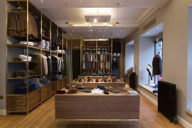 The Drake's shop on London's Clifford Street is a temple to il look inglese