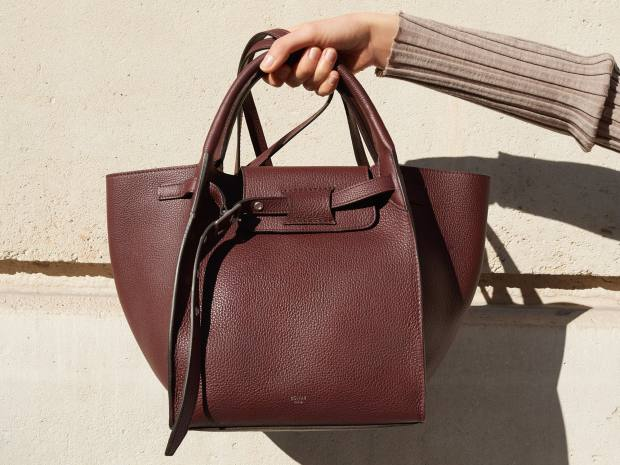 A new smaller version of theclassic Big Bag is available, £1,750