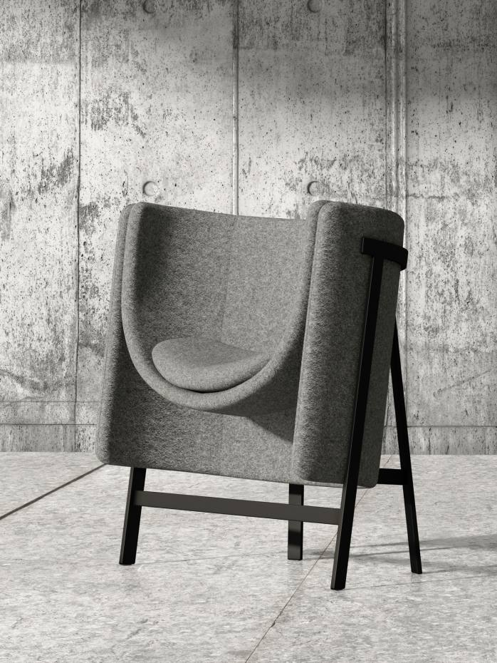 Stellar Works x Nendo Kite chair