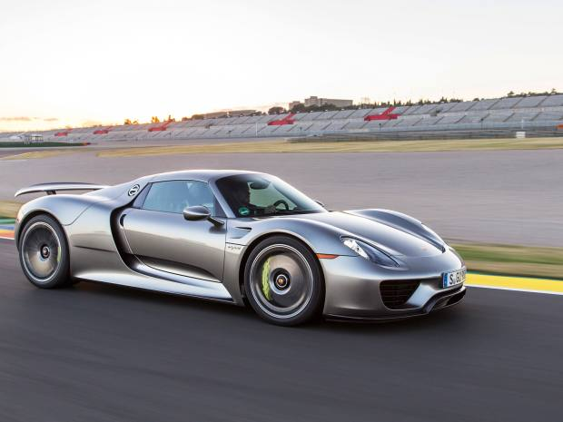 The Porsche 918 Spyder cost £781,155 at launch, but now goes for more than £1m