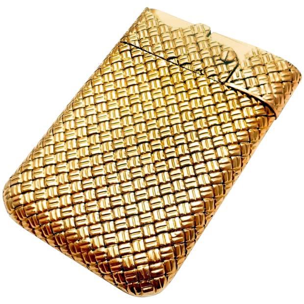 c1960s Van Cleef & Arpels gold lighter, £6,436 from1stdibs