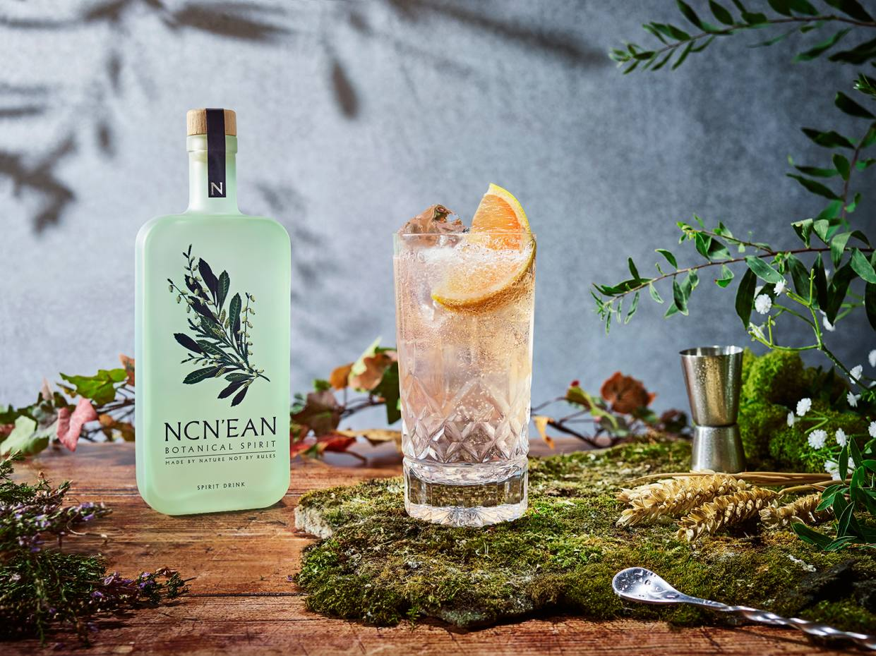 The Botanical Spirit is available direct from Ncn'ean in 500ml bottles, £30