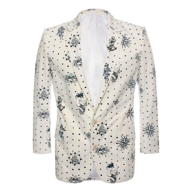 Alexander McQueen cotton blazer, £1,125