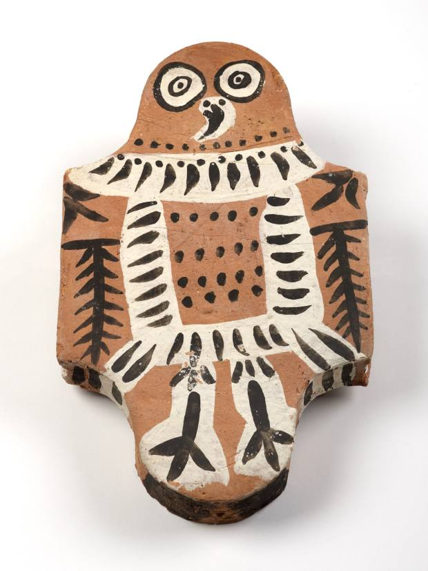 Owl floor tile by Picasso (1956)