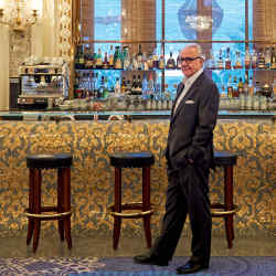 Alain Ducasse at Bar Salle Blanche in the casino