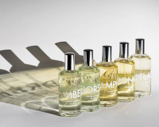 The brand offers five unisex scents, all £65 for 100ml EDT