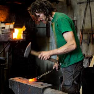 James Ross-Harris at Peckham's Blenheim Forge