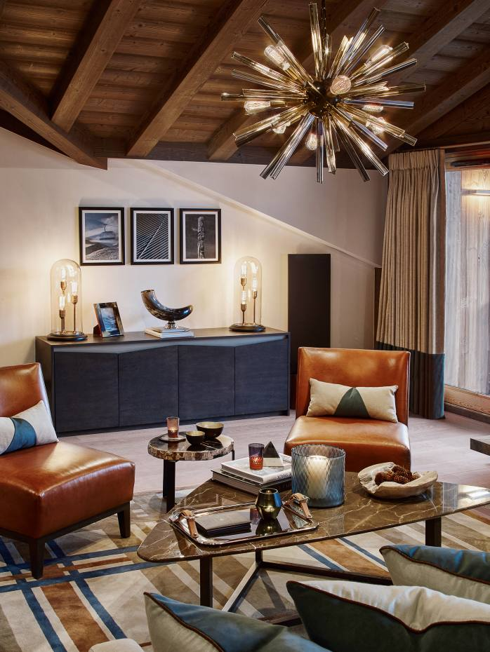 One of the Six Senses Residences stone and timber apartments at Courchevel 1850 in the French Alps, from €1.5m