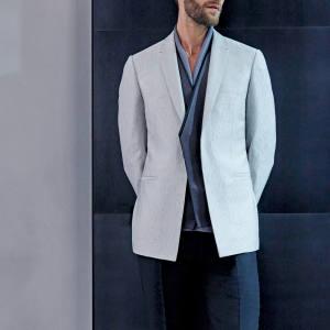 Kilgour silk jacket, £1,300