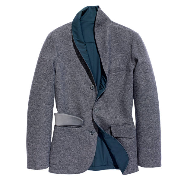 Loro Piana cashmere and goat suede jacket, £3,005