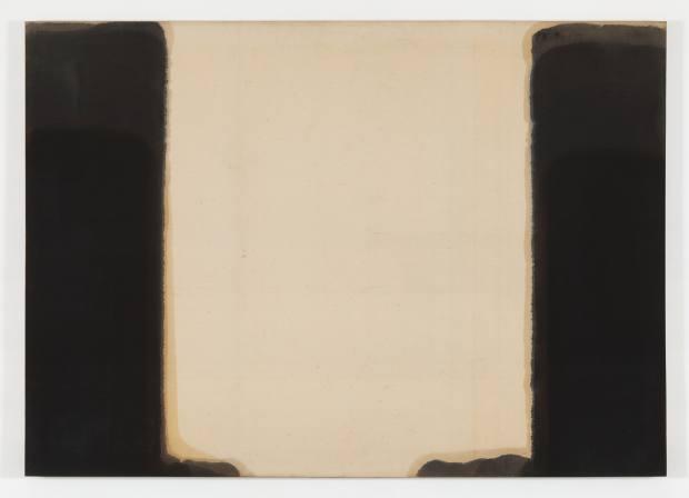 Yun Hyong-keun's Umber-Blue, 1977-78