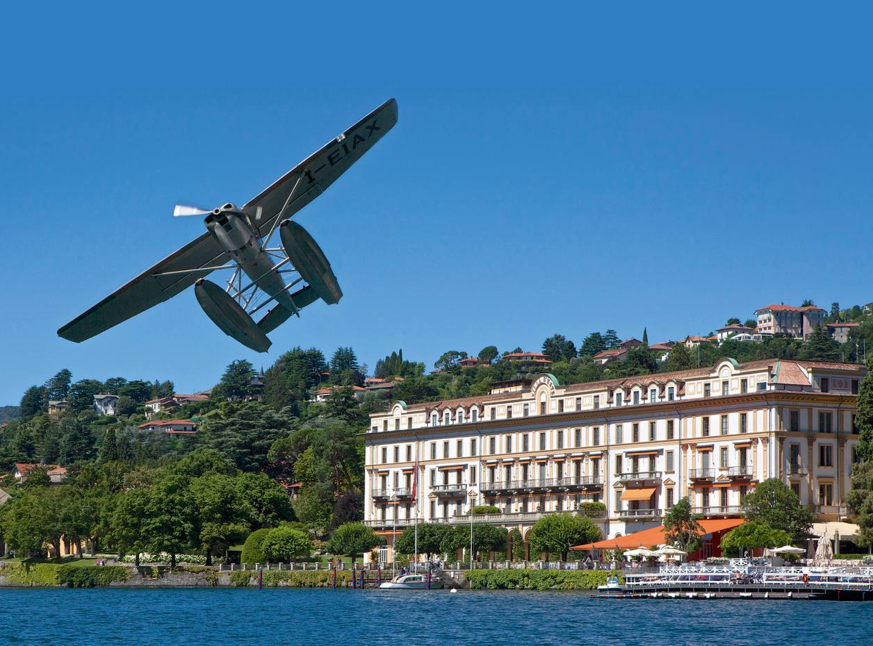 seaplane flying on lake como how to spend it