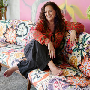 Missoni creative director Angela Missoni at her home in Sumirago, near Milan