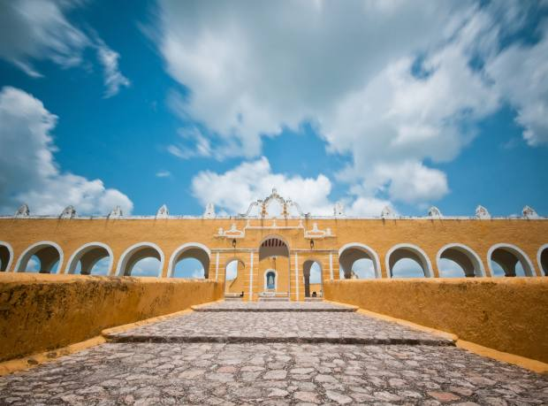 The Convent of Our Lady of Izamal