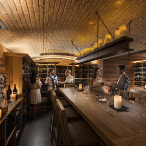 Belle Mare Plage's Blue Penny Cellar wine bar