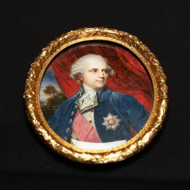 James Harris, Earl of Malmesbury, by William Grimaldi, c1795