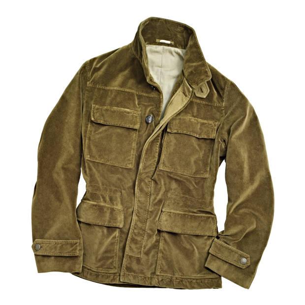Massimo Alba cotton-velvet field jacket, £683