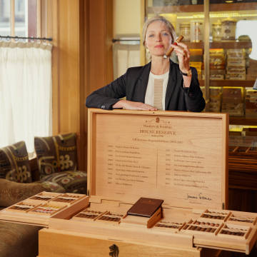 Jemma Freeman of Hunters & Frankau, creator of its House Reserve cigars