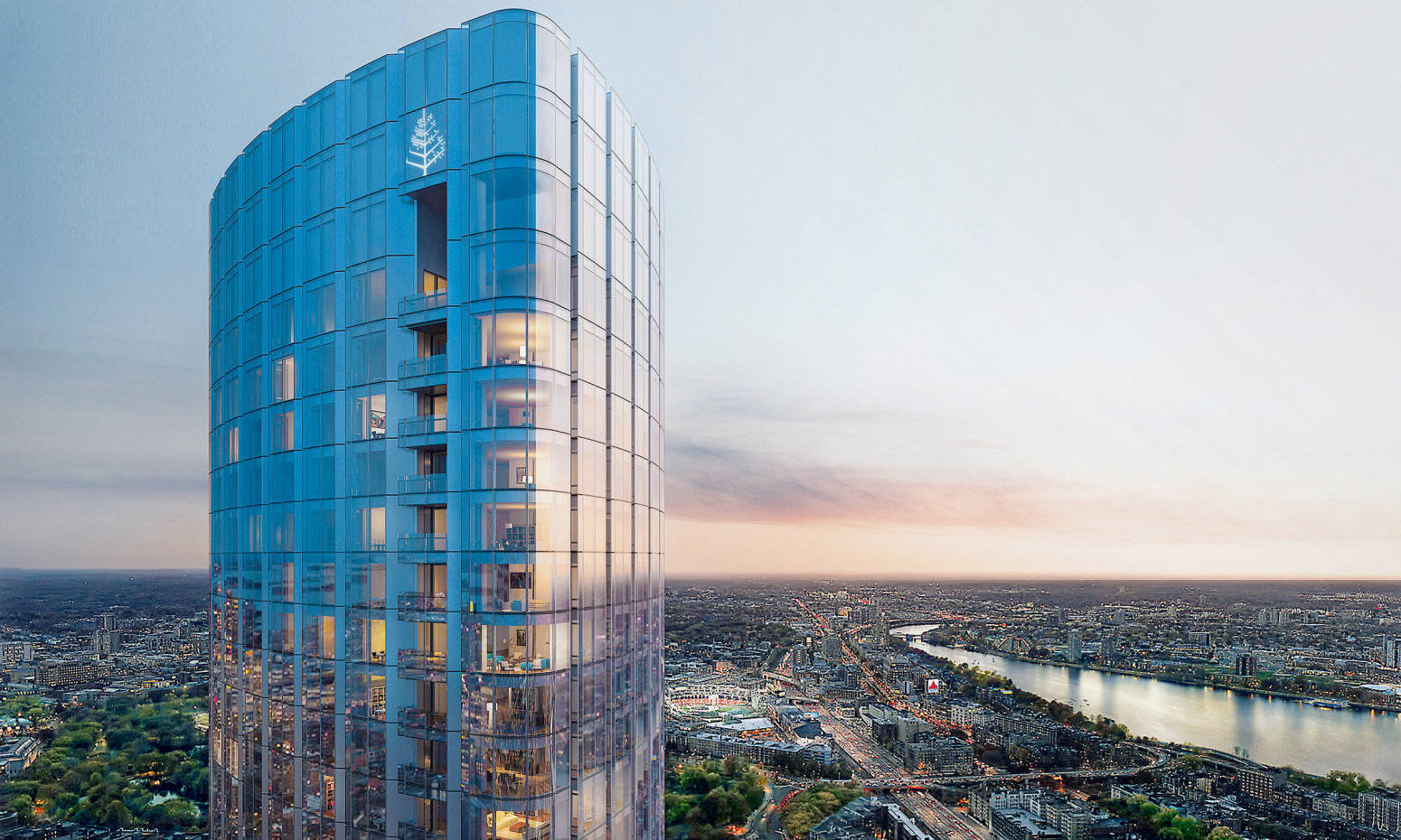 Four Seasons Private Residences One Dalton Street in Boston, where a penthouse recently sold for close to $40m