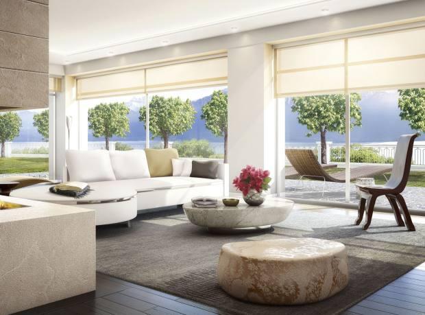 Du Parc Kempinski Private Residences with Lake Geneva views