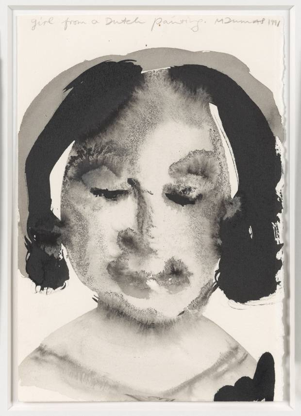 Artwork by Marlene Dumas
