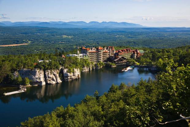 Mohonk Mountain House in New Paltz