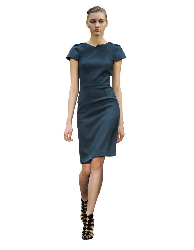 RM by the designer Roland Mouret's Scirocco pencil dress, £1,185. See main text for stockists.