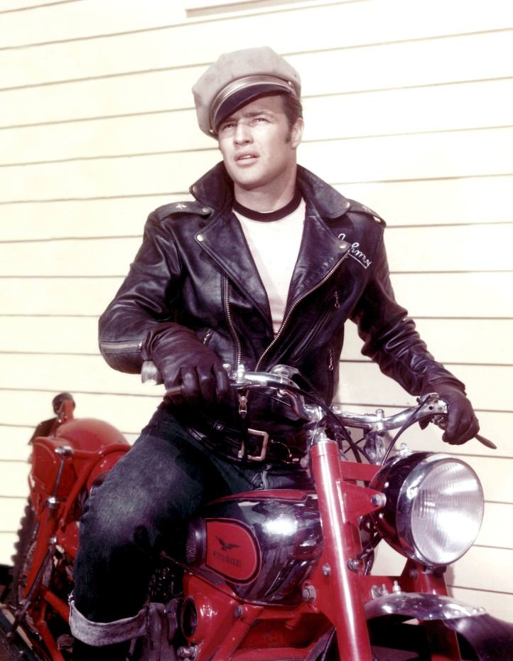 Marlon Brando in The Wild One, 1953