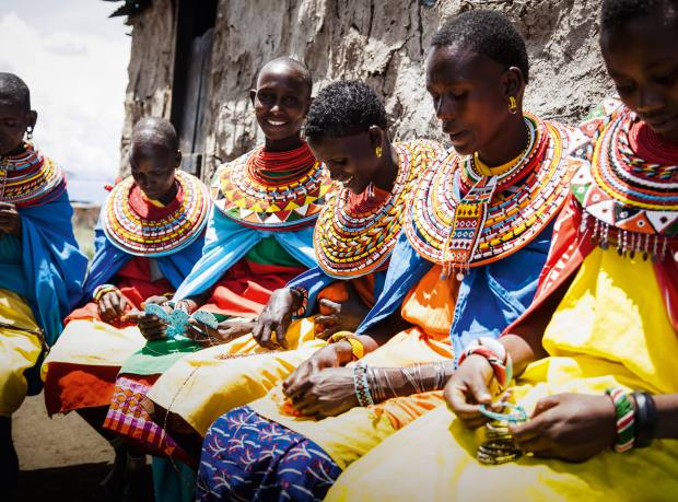 The Satubo Beading Group, a local community project in Kenya