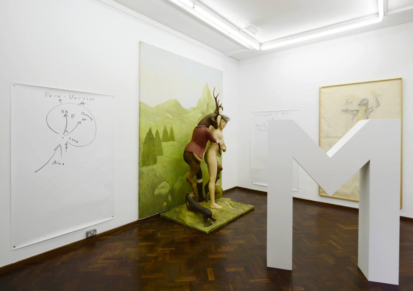 The Symptom of Art II: Schizoanalysis by Pierre Klossowski at Cabinet, London, 2015