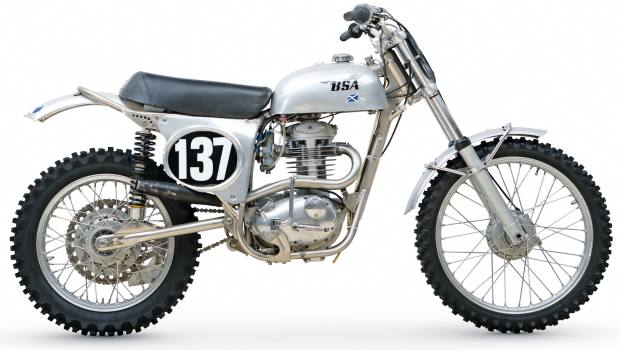1967 Cheney BSA Victor, sold for £8,050 at Bonhams