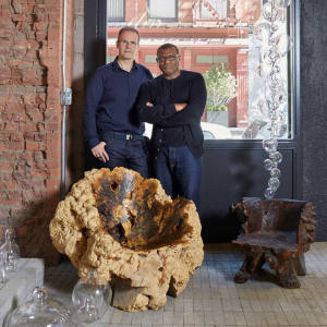 David Rees and Ron Anderson of jewellery boutique TenThousandThings