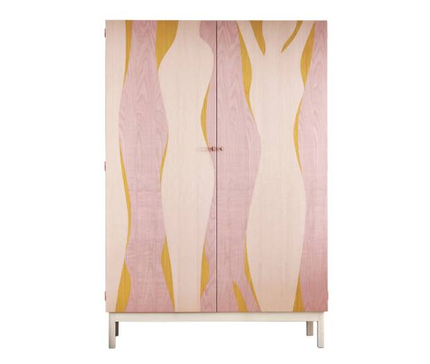 Pinch sycamore, ash and birch Elan armoire, £8,450