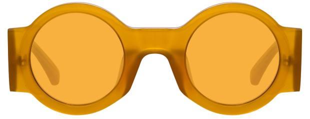 Dries van Noten x Linda Farrow sunglasses, £255, lindafarrow.com