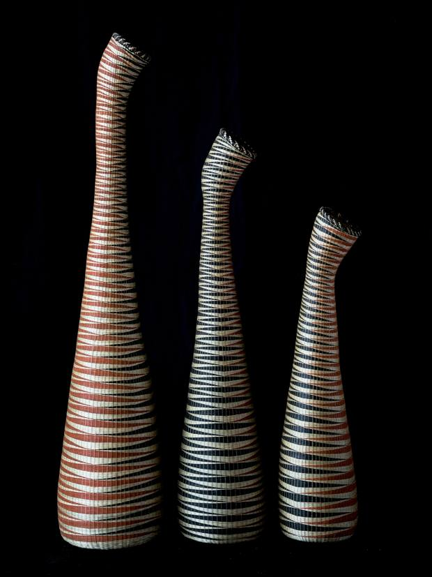 Andrew's woven baskets by Gahaya Links