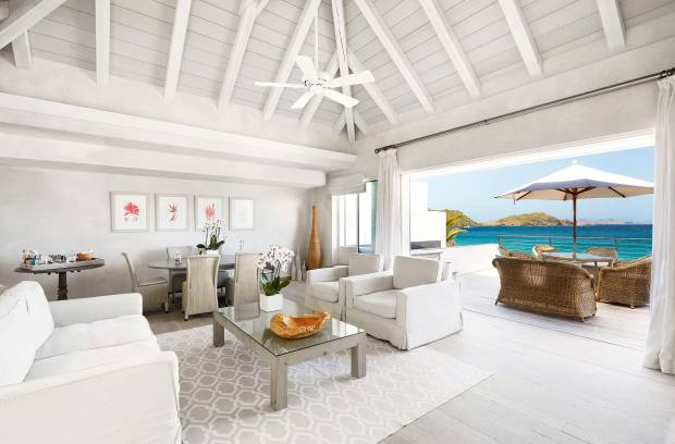 A villa at Cheval Blanc St-Barth Isle de France, which has just acquired the neighbouring hotel