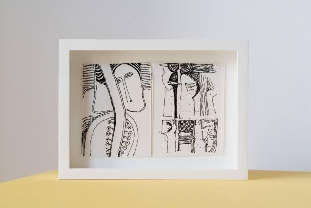 Pain Relief series by Ibrahim El-Salahi