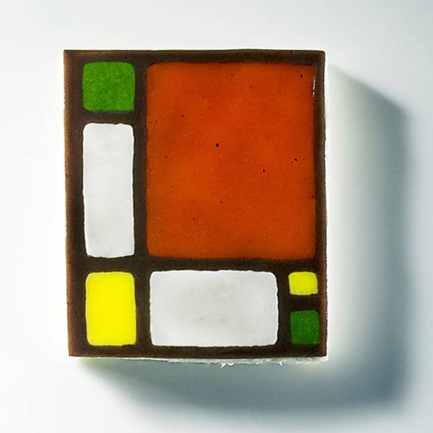 Ruscalleda is renowned for food inspired by the Dutch de stijl artist Piet Mondrian and her edible artworks mirror his abstract paintings