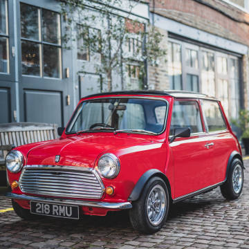 The 100 electrically powered Swind E Classic Minis, priced from £79,000, offer a blend of classic chic and high-tech efficiency