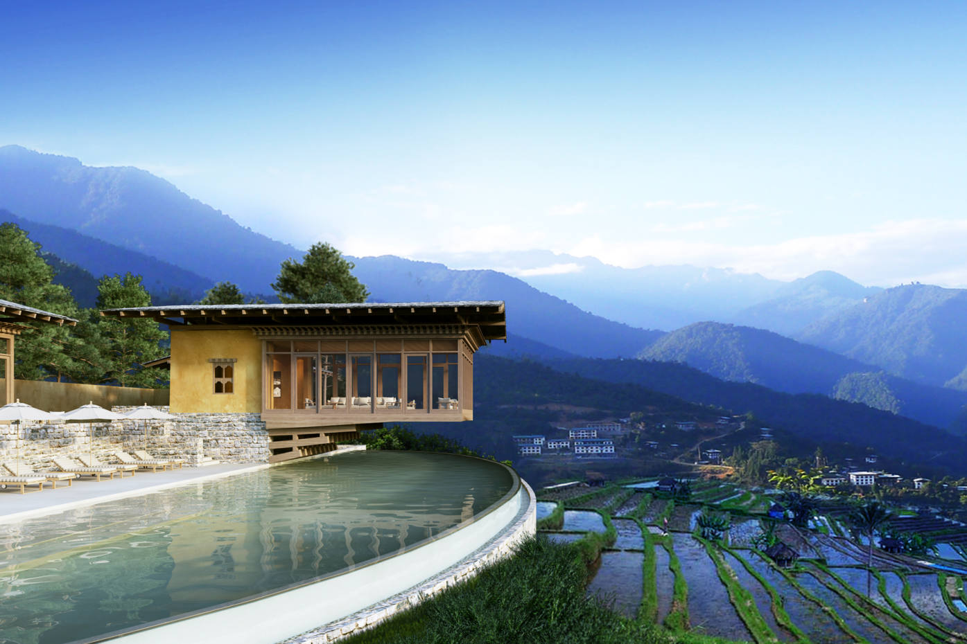 Six Senses' lodge in Punakha, Bhutan, is one of three whose launch is imminent