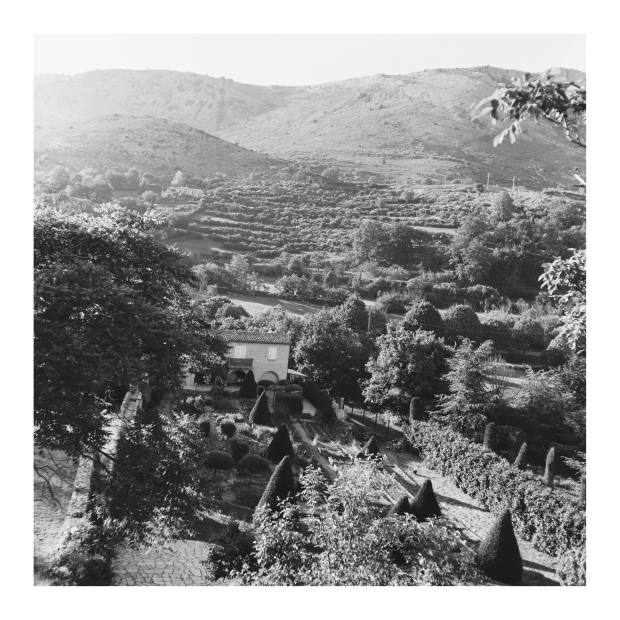 Gourdon in the Alpes-Maritimes. Taken by the author using a Rolleicord